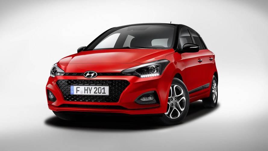 Makyajlı Hyundai i20'nin satışı başladı