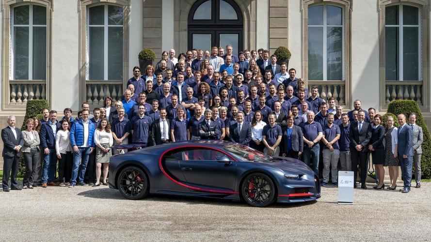Bugatti ha venduto 100 Chiron. Il valore? 250 milioni di euro