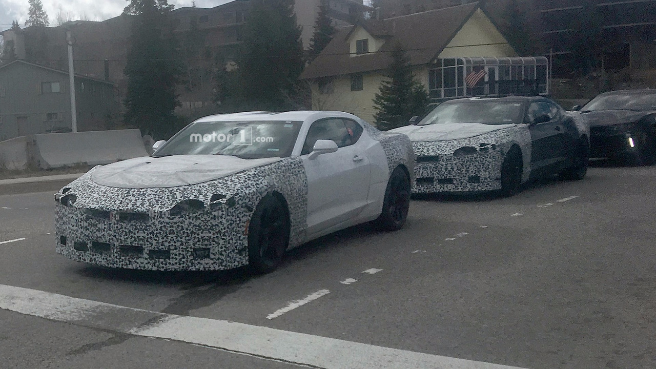 Camaro Gt4r >> 2019 Chevy Camaro Spied For The First Time With Minor Changes