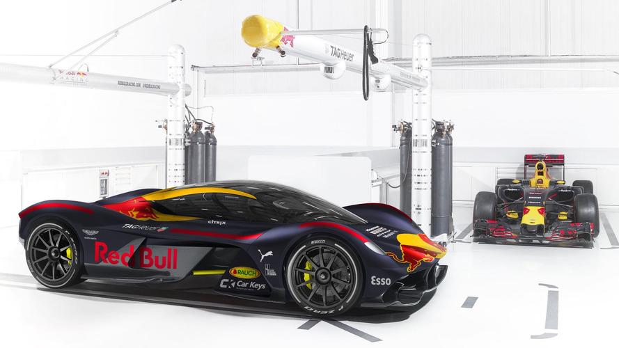 Supercarros de produção com pintura de F1