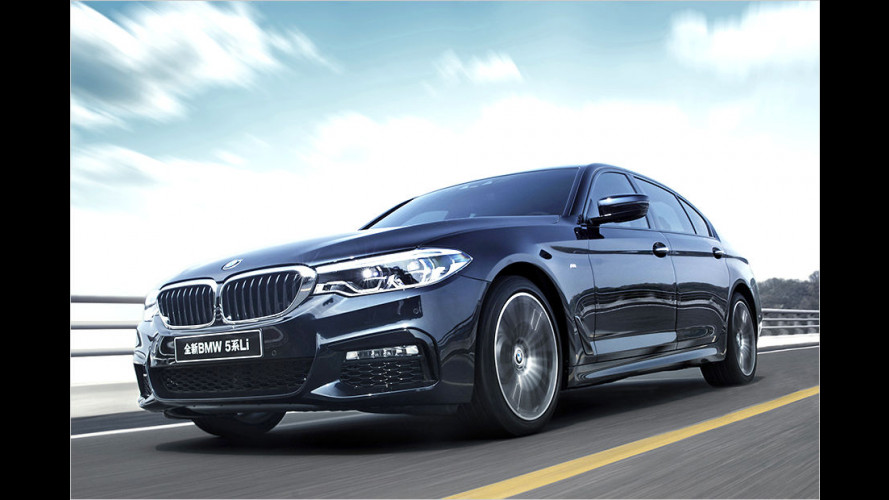 BMW 5er Langversion: XL für China