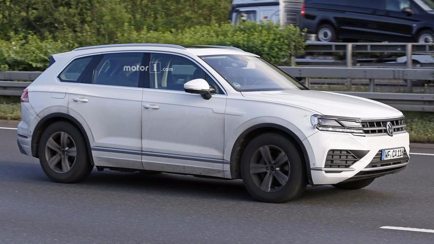Visiblement, le nouveau VW Touareg est prêt