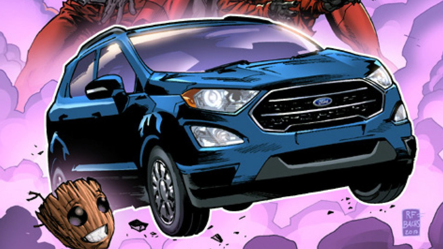 Ford EcoSport To Star In Guardians Of The Galaxy Volume 2