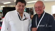 Tony Teixeira, A1GP Chairman with Ex F1 Driver Chris Amon