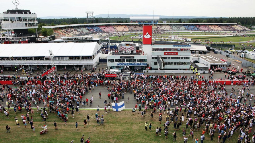 F1 left to muse reasons for small Hockenheim crowd