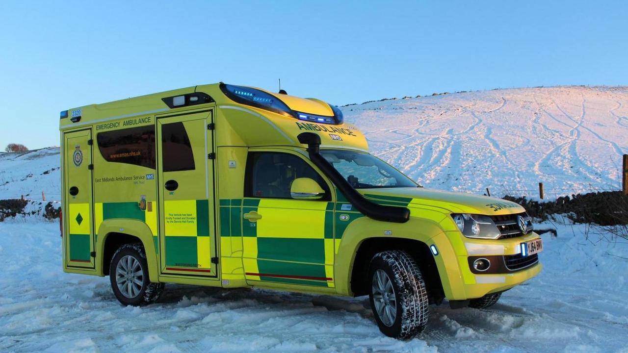 Volkswagen Amarok ambulance