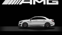 Mercedes-AMG White Series scale model