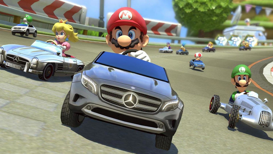 Mario Kart 8 adds three new Mercedes models [video]
