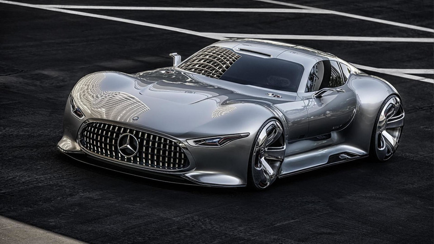 Mercedes allegedly developing 1,300-hp hypercar