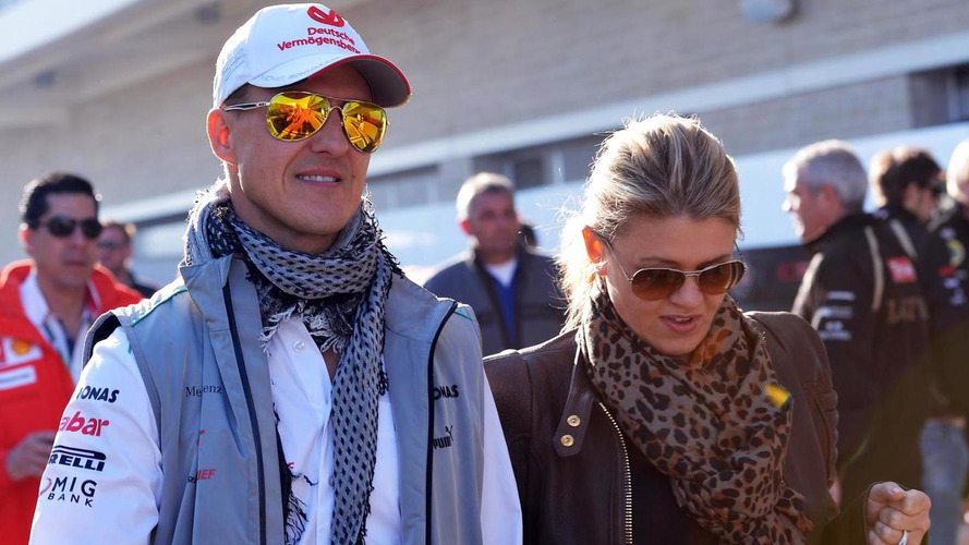 Schumacher's wife says 'most difficult time' now over