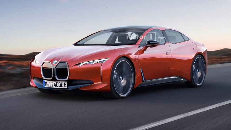 Render BMW i4 2020: la berlina eléctrica más pasional