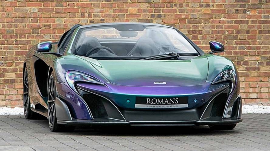 McLaren 675LT Spider In Chameleon MSO Amazon Colour Stream