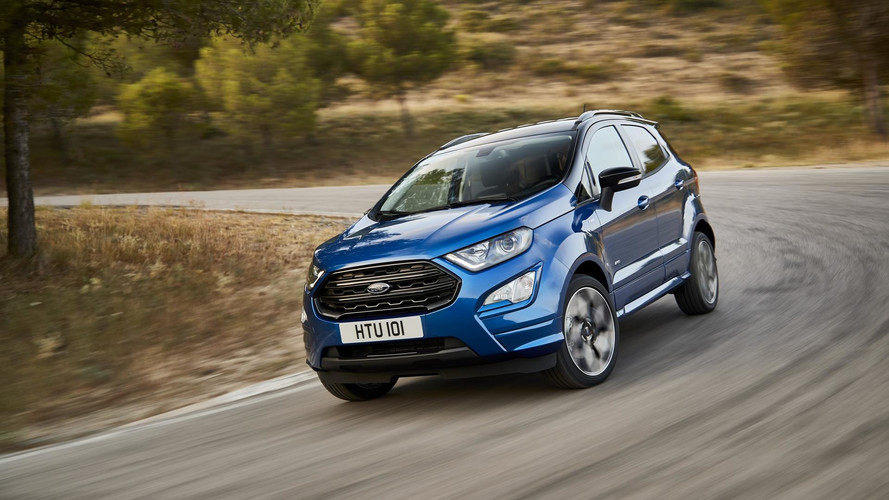 Ford EcoSport Facelift Revealed With Sporty ST-Line Option