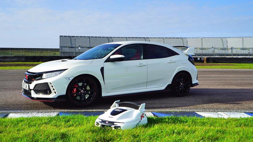 Une tondeuse Type R et autonome — Honda