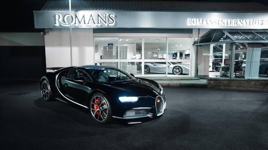 El primer Bugatti Chiron de segunda mano cuesta 4.100.365 euros