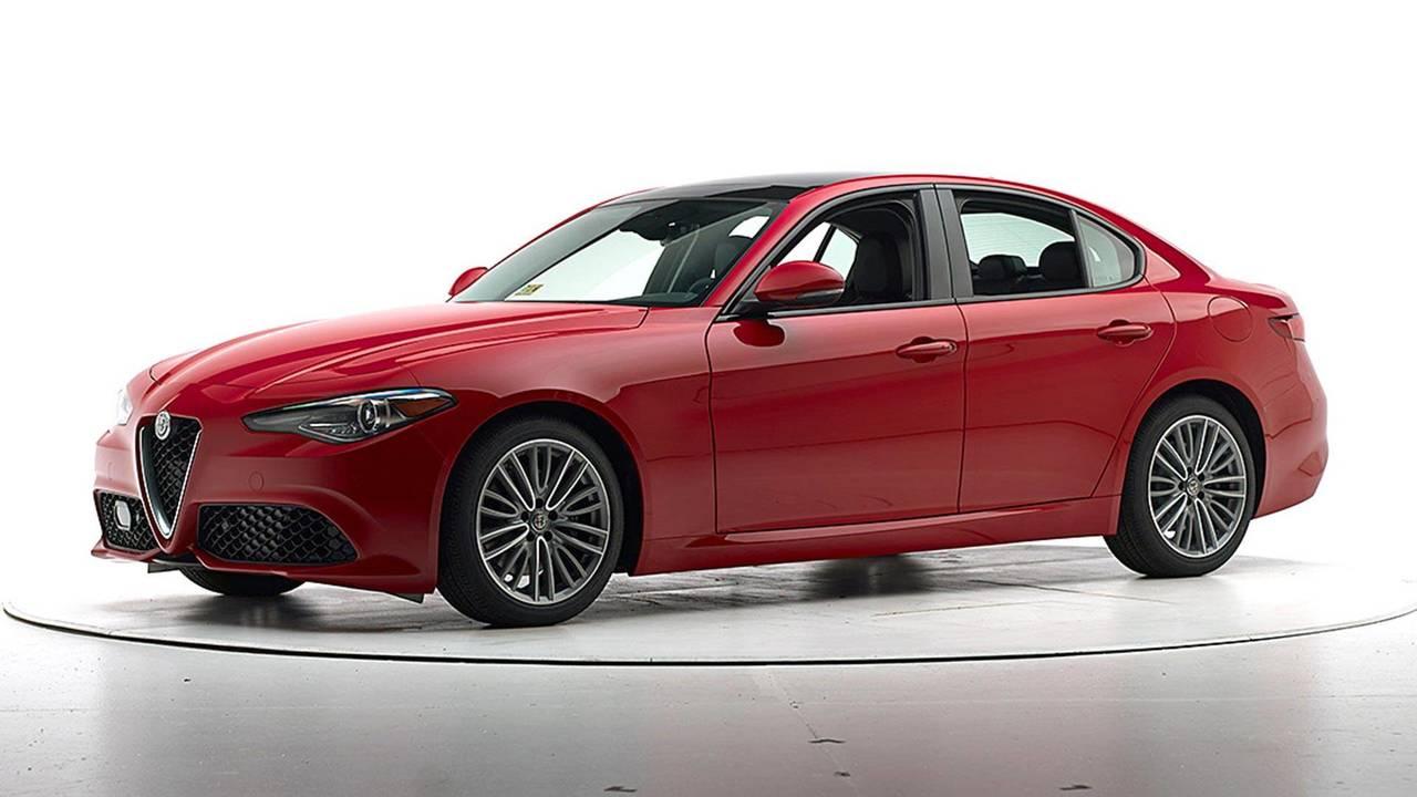 Alfa Romeo Giulia Crash Test