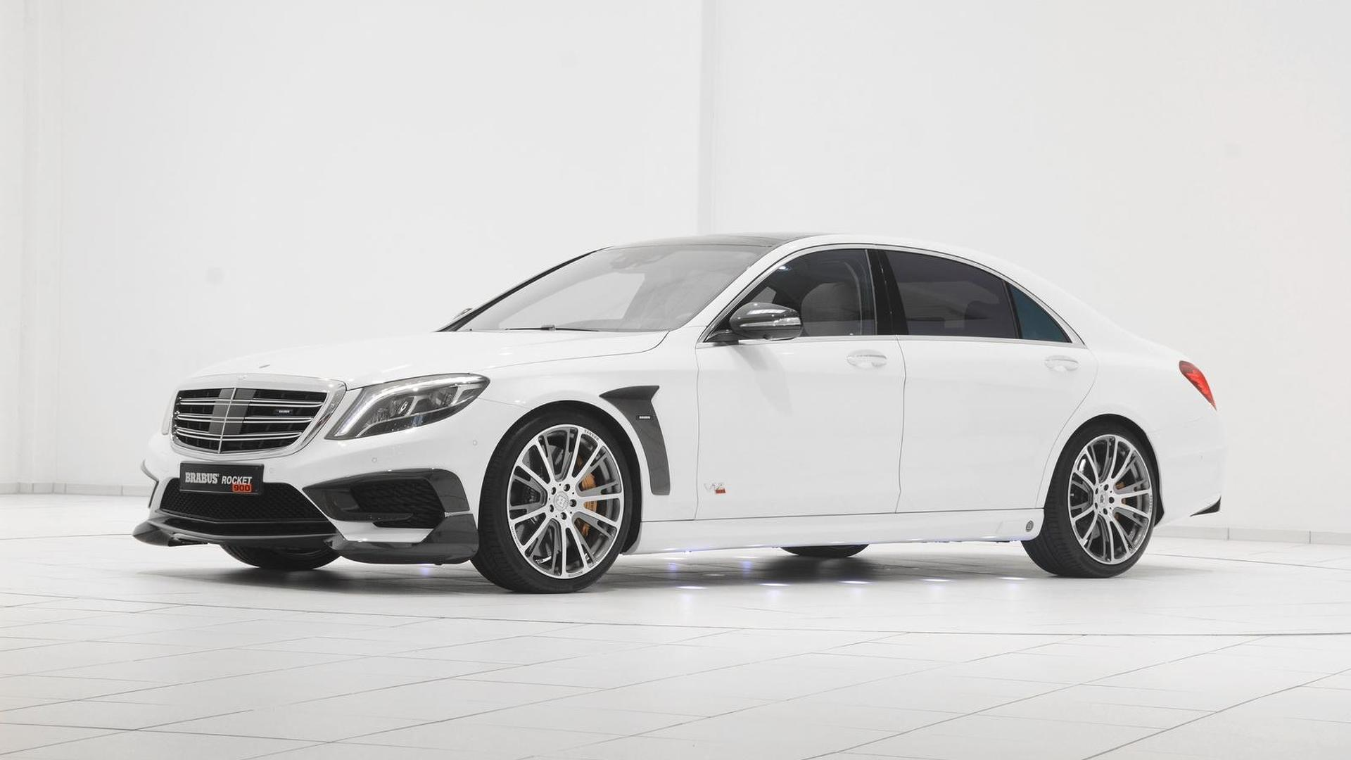 Brabus Rocket 900 is a heavily tuned MercedesBenz S65 AMG with