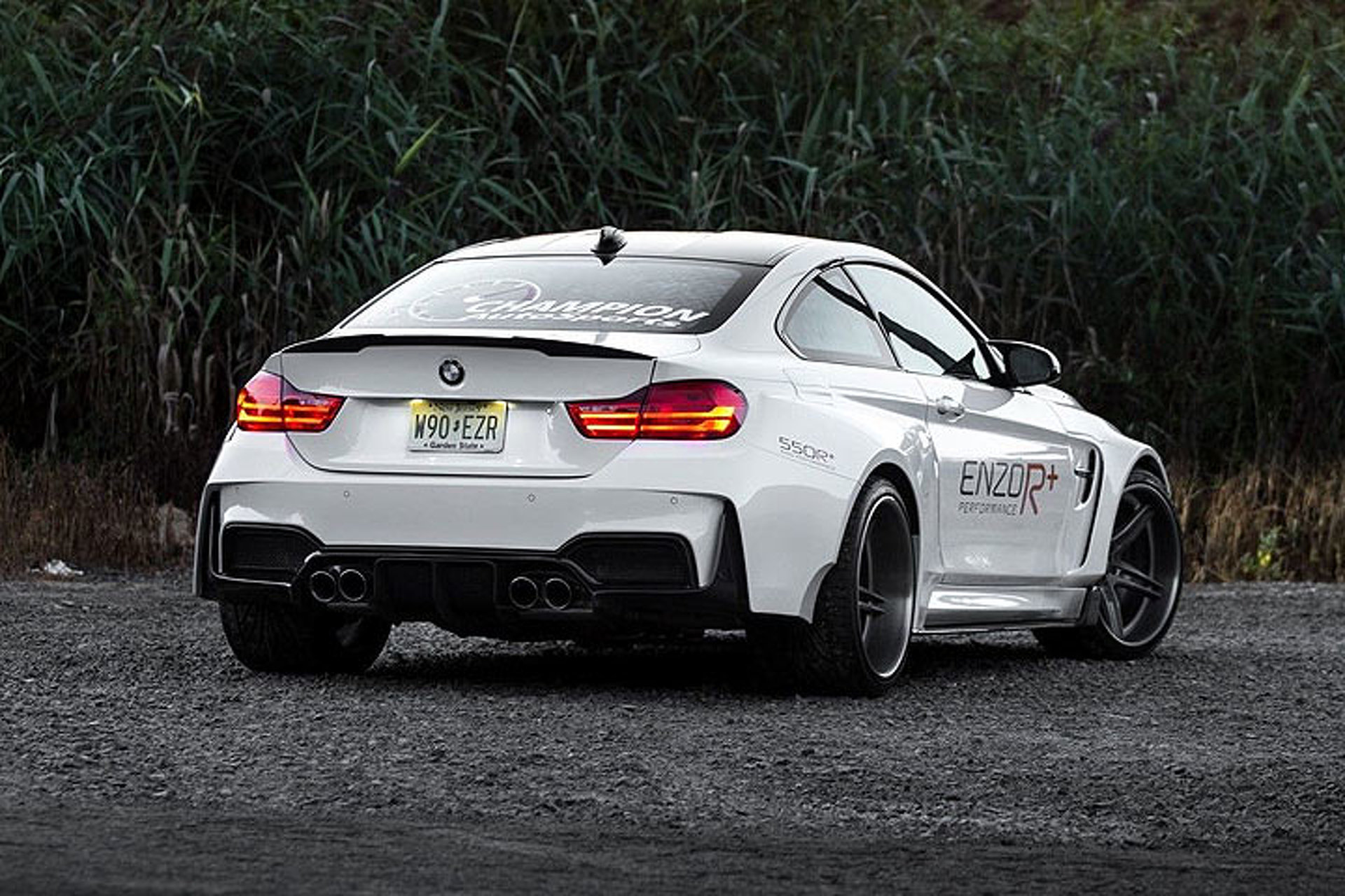 The 2015 BMW M4 Looks Menacing in Widebody Form