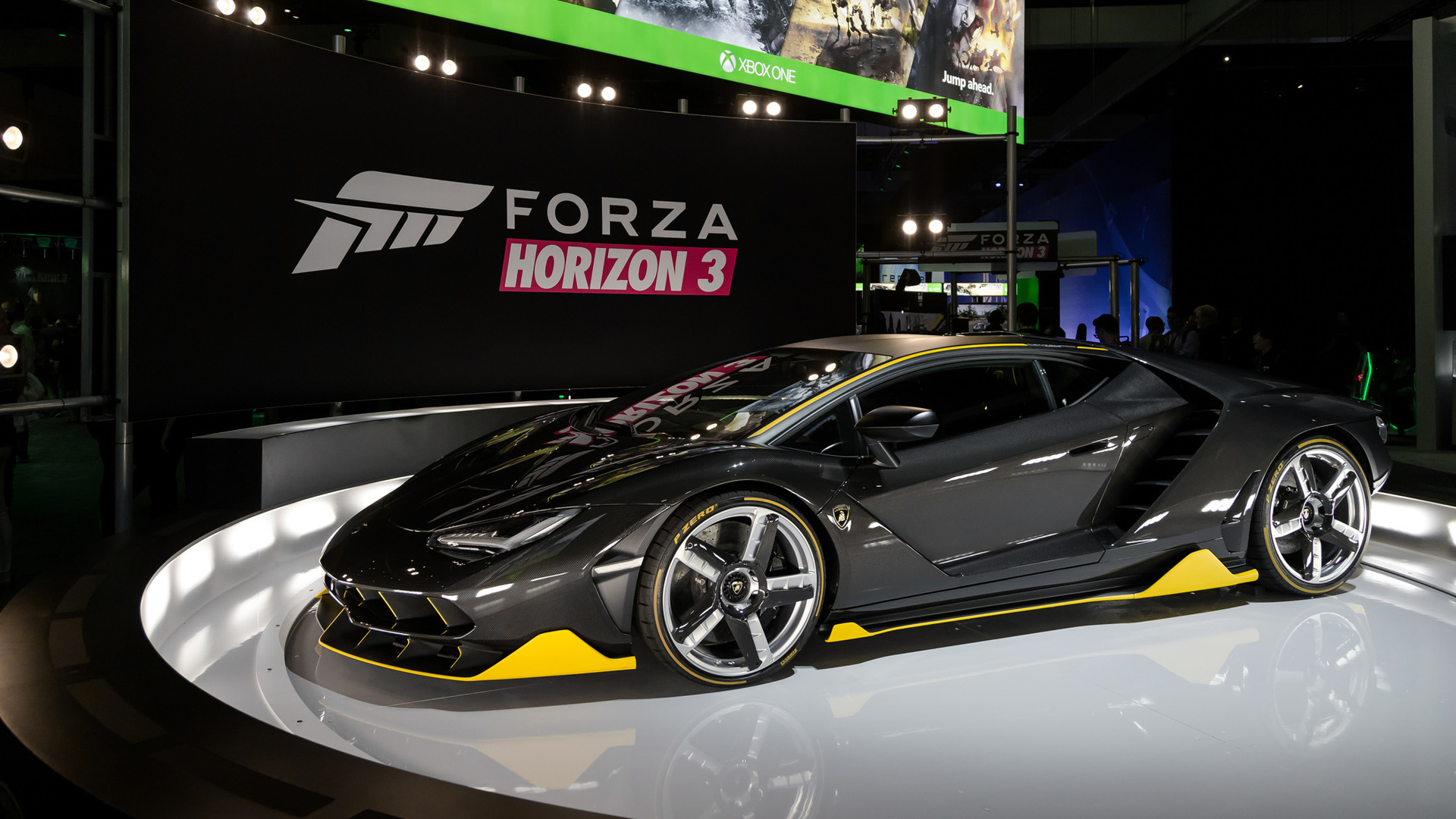 lamborghini centenario debuts in the u.s., we drive it in forza