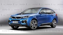 BMW i5 rendering