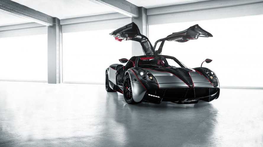 Pagani Huayra gets satin black chrome wrap by SS Customs