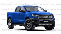Ford Ranger Raptor Rendering