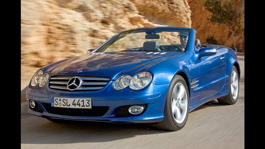 Sport-Ouvertüre: Aufgefrischte Mercedes SL-Klasse im Test