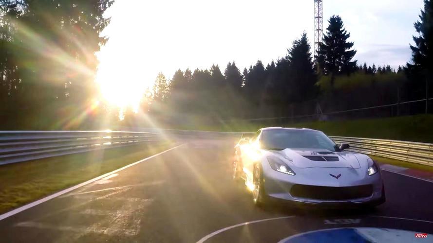 VIDÉO - Le chrono de la Corvette Z06 sur le Nürburgring