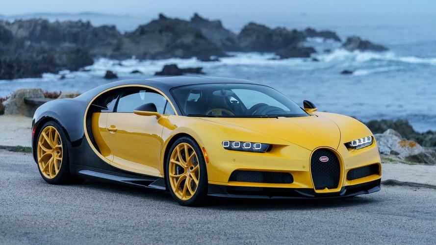 Bugatti Chiron entregue nos EUA