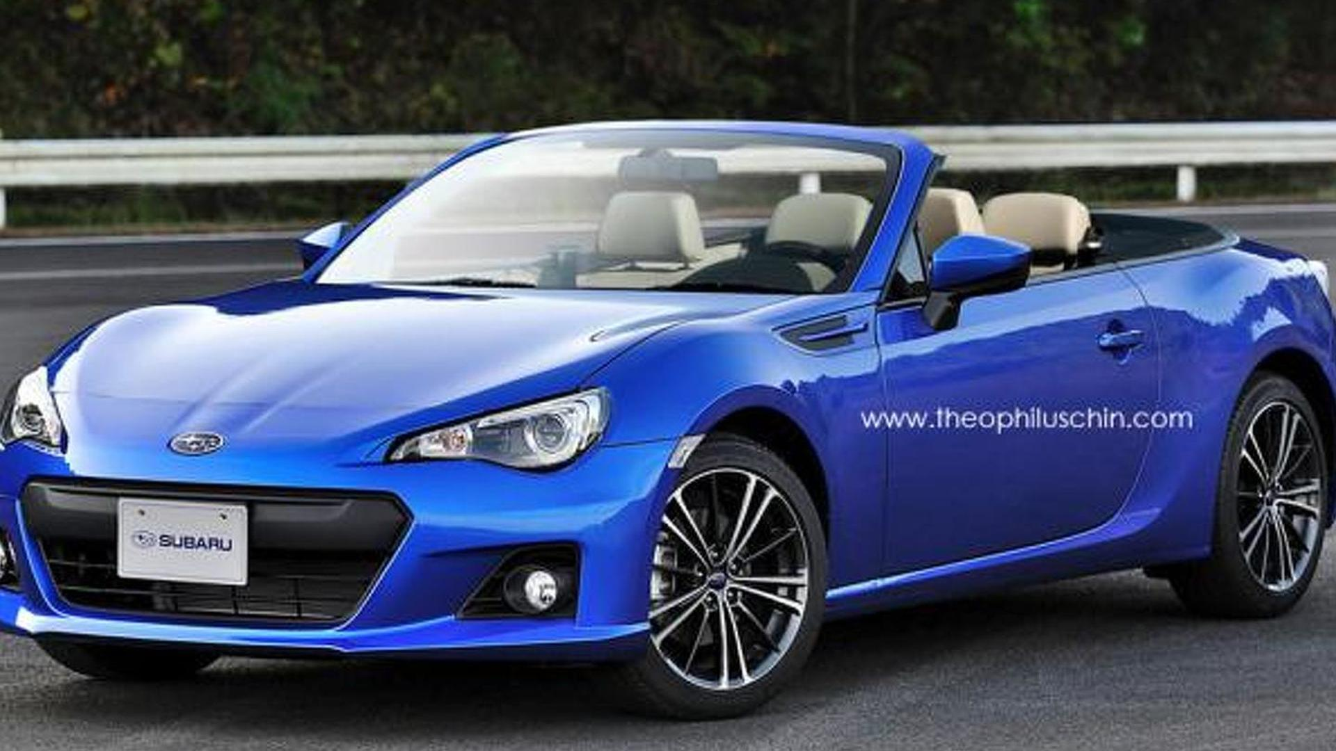 Subaru confirms AWD Twin Turbo Convertible two seater Diesel Hybrid BRZ