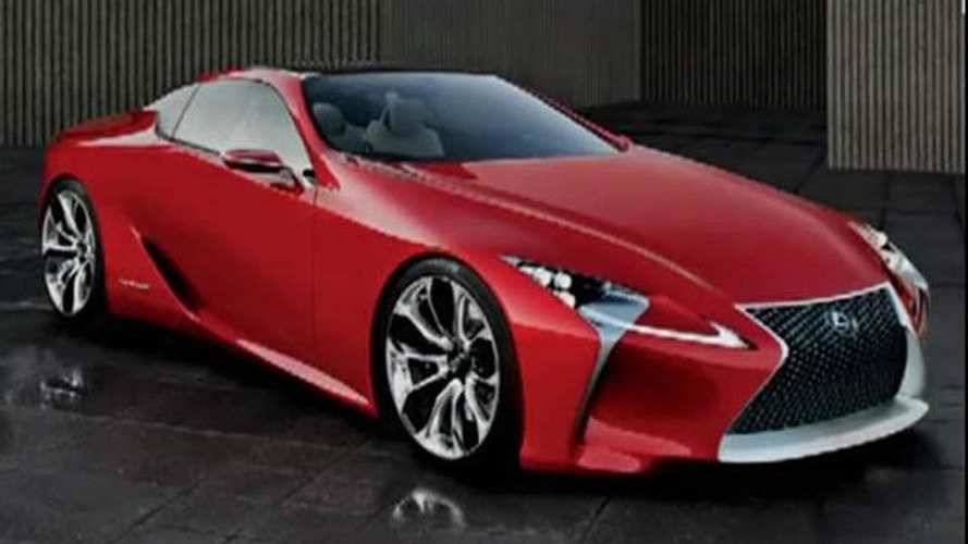 Lexus LF-Lc concept leaked