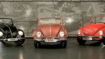 Production of the Beetle Convertible ended 25 years ago