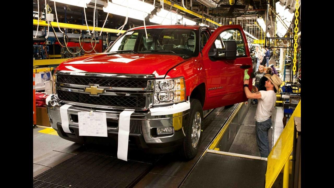 GM é apontada como a pior montadora pelos fornecedores dos EUA