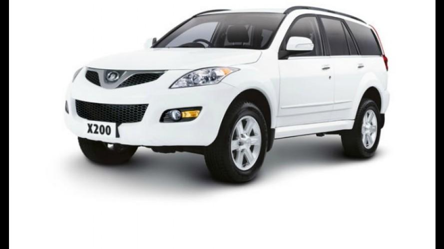 Great Wall lança o SUV X200 à diesel pelo equivalente a R$ 46.390,00 na Austrália
