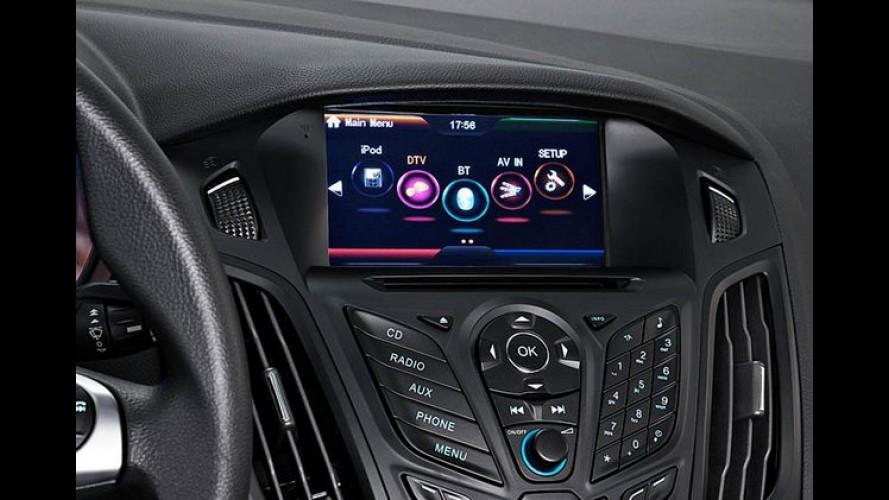 Ford lança central multimídia com GPS para Fiesta, EcoSport e Focus