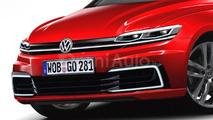 2017 VW Golf rendering
