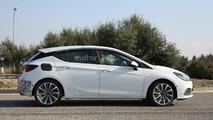 Opel Astra GSI spy photo