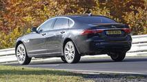 Jaguar XF L spy photo