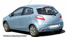 SPY PHOTOS: New Mazda2 Sedan and Wagon