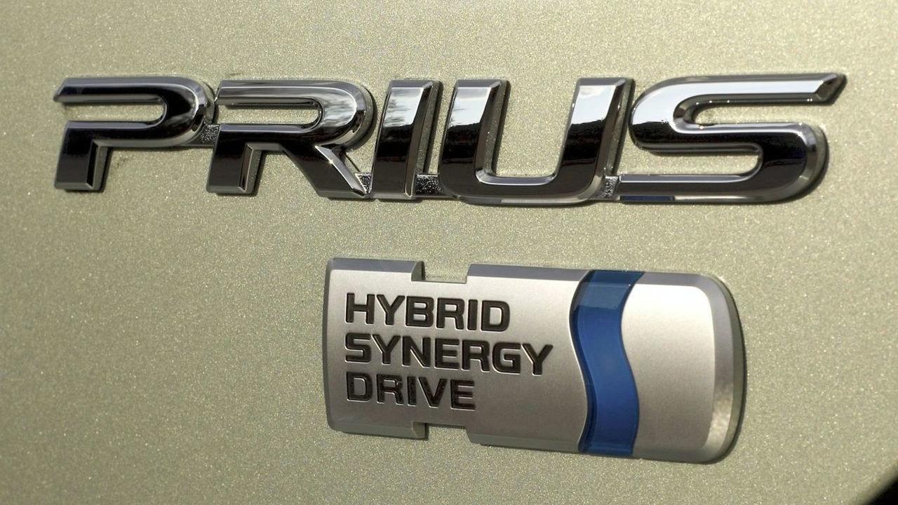 Toyota Prius badge