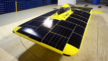 University of Michigan Continuum solar car