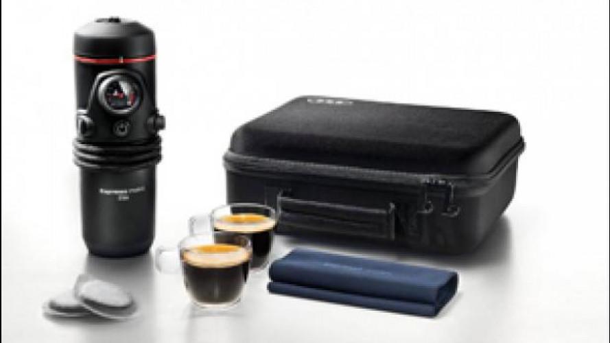 Anche le Audi fanno il caffè