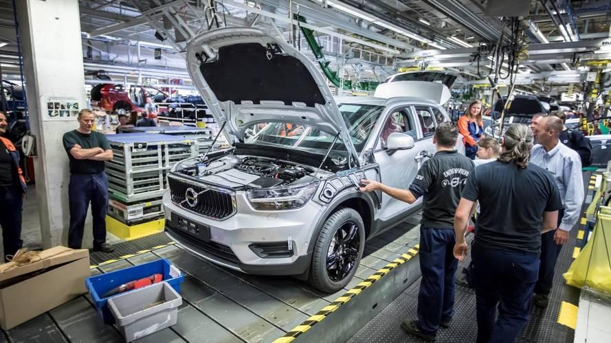 Lancement en production du Volvo XC40