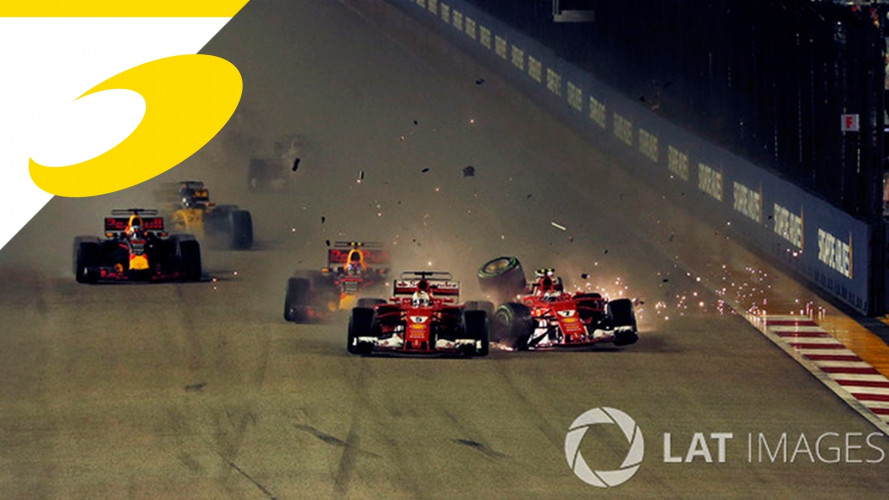 Ferrari, quello di Singapore è un normale incidente di gara