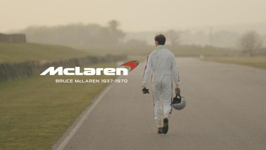 McLaren celebrates 50th anniversary through short film trilogy praising Bruce McLaren