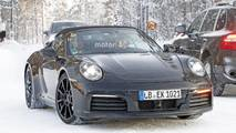 2019 Porsche 911 Cabrio new spy photo