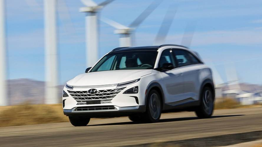 Hyundai's new hydrogen-powered car will be called the Nexo