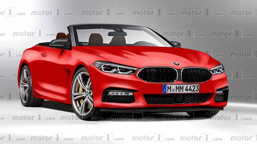 Rendering Reveals What A BMW 8 Series Convertible Could Look Like