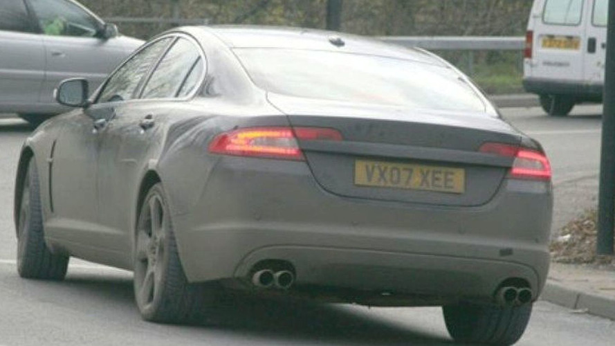 Jaguar XF-R Sports Sedan Spied