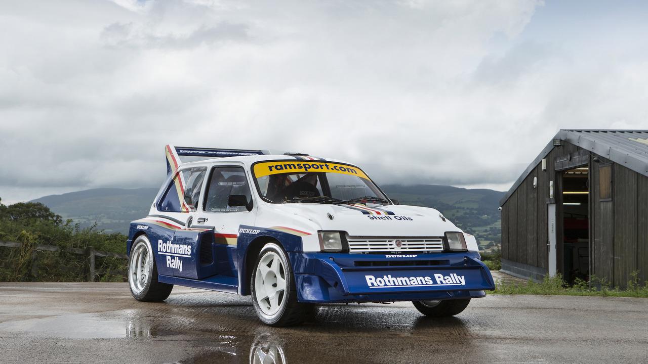 1985 MG Metro 6R4 Group B Rally Car | Motor1.com Photos